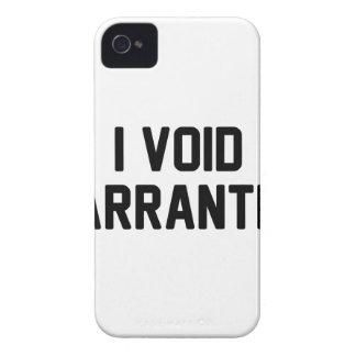 I Void Warranties Case-Mate iPhone 4 Case