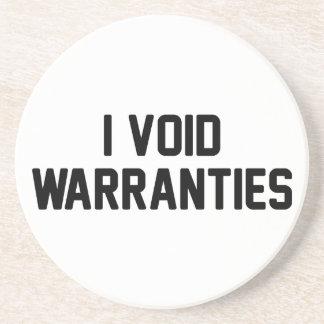 I Void Warranties Coaster