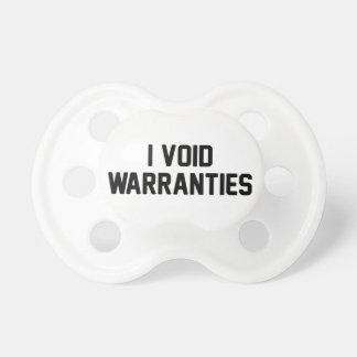 I Void Warranties Dummy