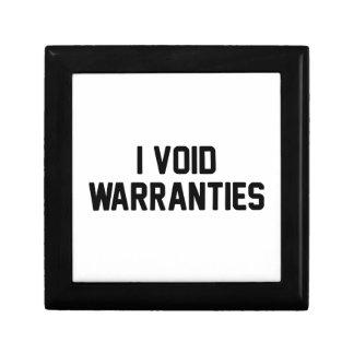 I Void Warranties Gift Box