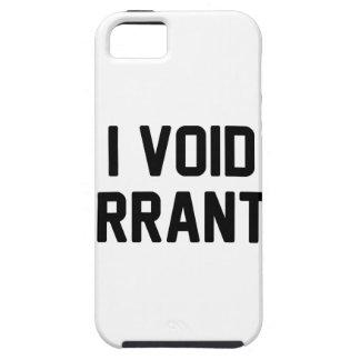 I Void Warranties iPhone 5 Cases