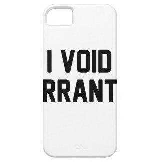 I Void Warranties iPhone 5 Cover