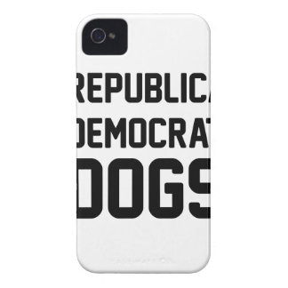I Vote Dogs Case-Mate iPhone 4 Cases