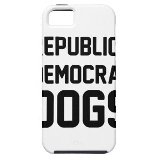 I Vote Dogs iPhone 5 Cover
