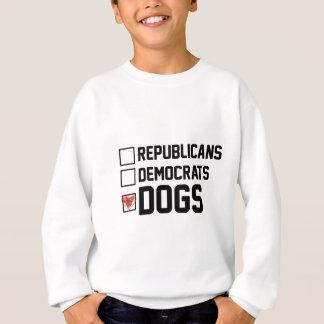 I Vote Dogs Sweatshirt