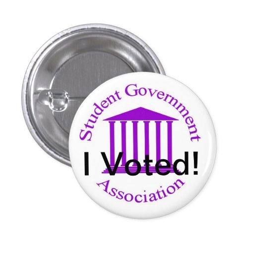 I Voted! Pinback Button