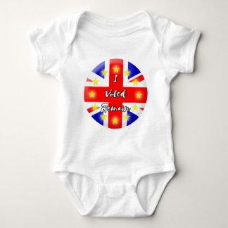 I voted Remain History Baby Bodysuit