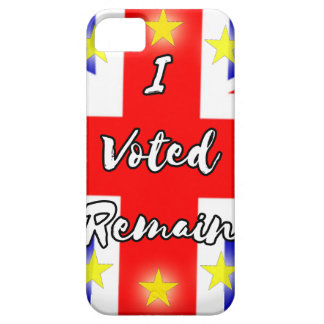 I voted Remain History iPhone 5 Covers