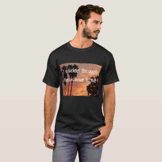 I waded through Hurricane Irma with palm trees and T-Shirt