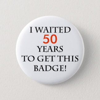 I waited years to get this badge