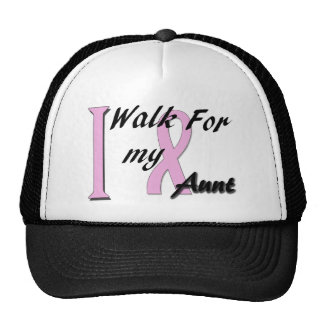 I walk for my aunt cap