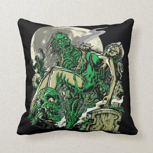 I Walked with a Zombie Pillow