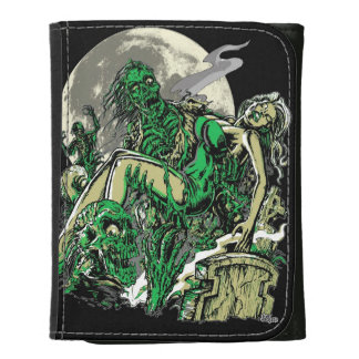 I Walked with a Zombie Leather Wallets