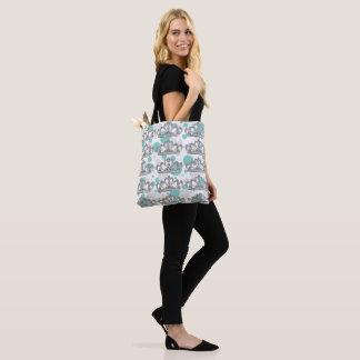I Wanna Wear My Tiara Party Polka Dot Tote Bag