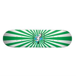 I want a zebra for Christmas Custom Skate Board