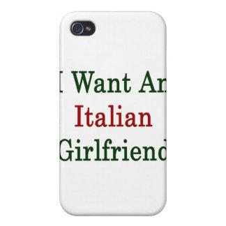 I Want An Italian Girlfriend iPhone 4/4S Cases