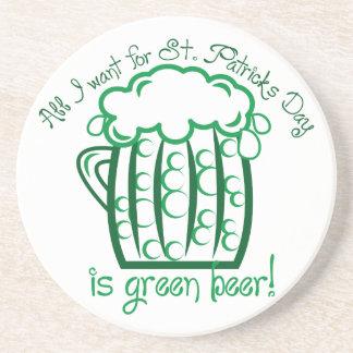 I Want Beer Coaster