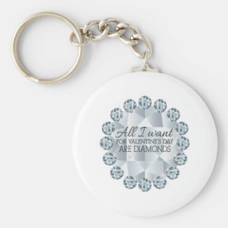 I Want Diamonds Key Chains