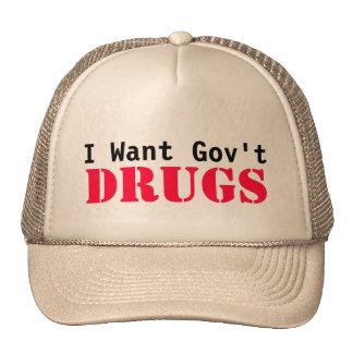 I Want Govt DRUGS Cap