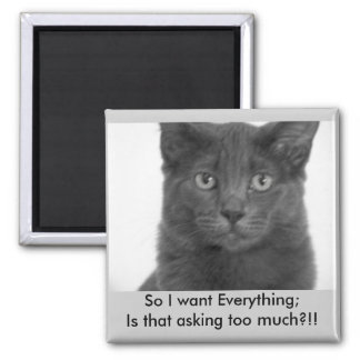 I want it all Magnet