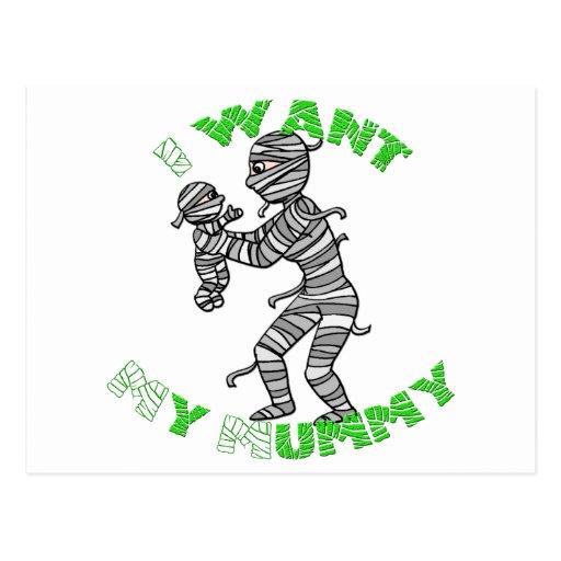 I Want My Mummy Postcards