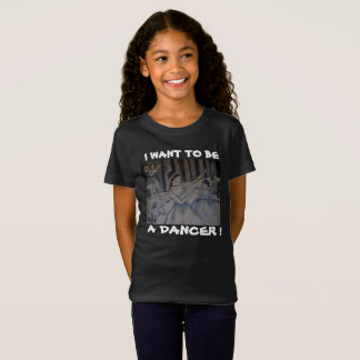I WANT TO BE A DANCER child tee