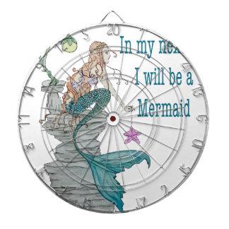 I want to be a Mermaid Dartboard