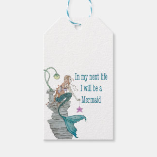 I want to be a Mermaid Gift Tags