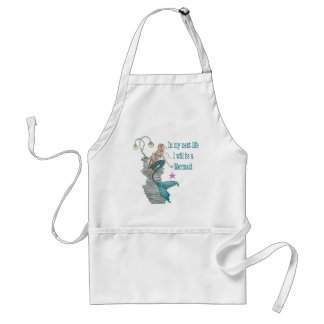I want to be a Mermaid Standard Apron