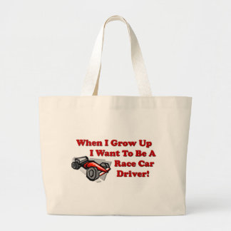 I Want to be A Race Car Driver Bag