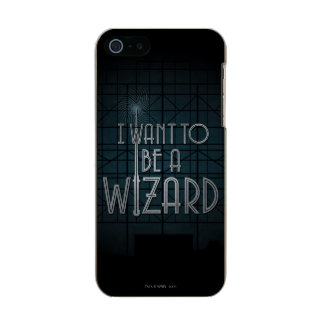 I Want To Be A Wizard Incipio Feather® Shine iPhone 5 Case