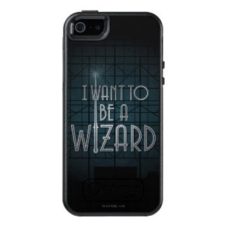 I Want To Be A Wizard OtterBox iPhone 5/5s/SE Case