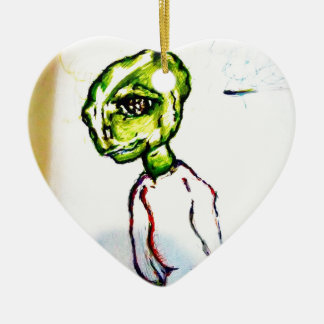 I want to be loved ceramic ornament