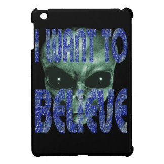 I Want To Believe 2 iPad Mini Cases