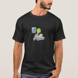 I Want to Believe Alien Tshirt
