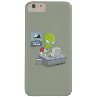 I Want To Believe Barely There iPhone 6 Plus Case