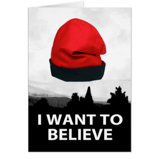 I want to believe - Barretina Card