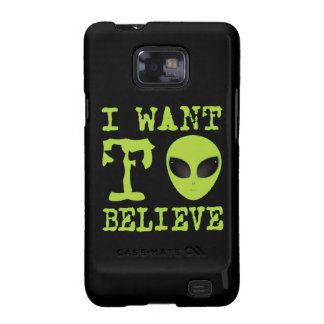 I Want To Believe Samsung Galaxy S2 Covers