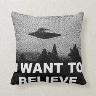 I WANT TO BELIEVE CUSHIONS