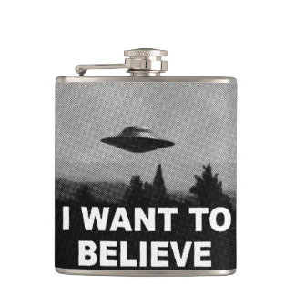 I WANT TO BELIEVE FLASKS