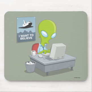 I Want To Believe Mouse Pad