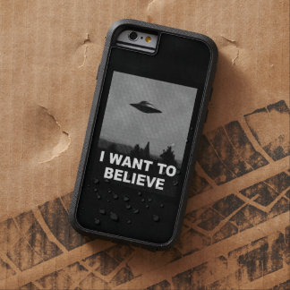 I WANT TO BELIEVE TOUGH XTREME iPhone 6 CASE