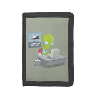 I Want To Believe Trifold Wallets