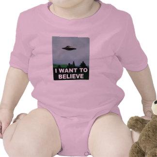 I Want To Believe Bodysuits