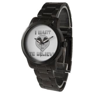 I Want to Believe Unisex Watch