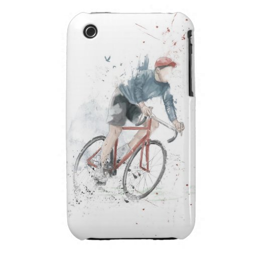 I want to ride my bicycle iPhone 3 cases