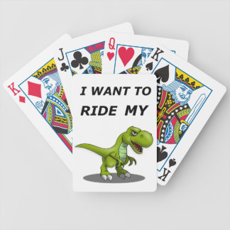 I Want To Ride My Bicycle Playing Cards