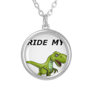 I Want To Ride My Silver Plated Necklace