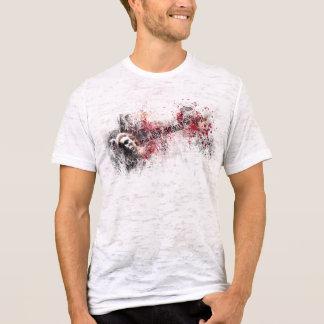I want to tear down... (men's burnout tshirt) T-Shirt