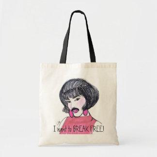 I want you BREAK FREE! Tote Bag